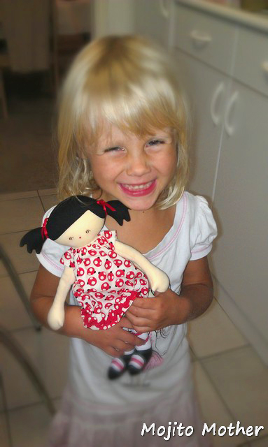 Sadie doll from Baby Button