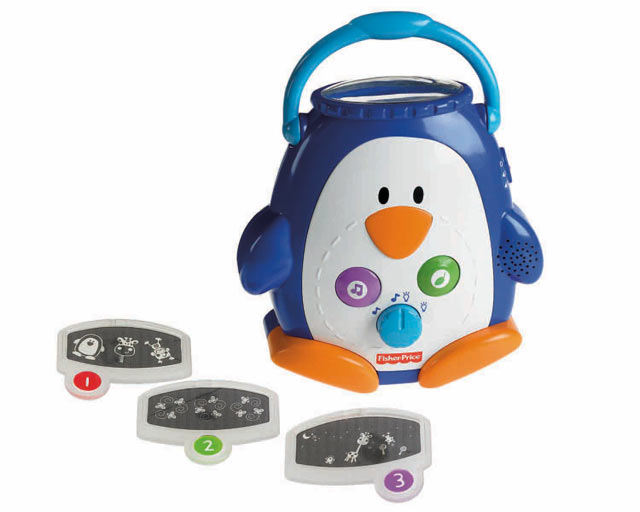 discover n grow penguin baby soother