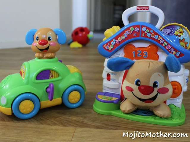Fisher Price Puppy Playhouse and learning car
