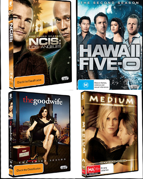 Paramount DVD TV series giveaway