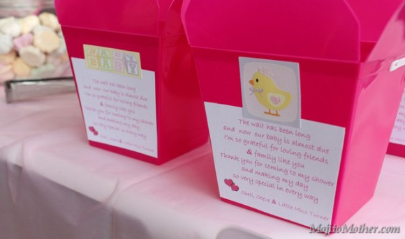 baby shower lolly boxes