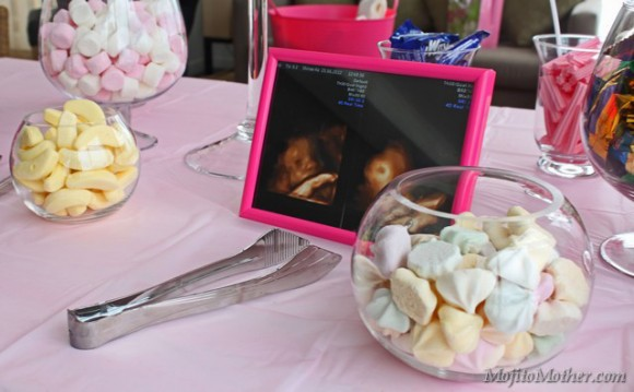 lolly table baby shower