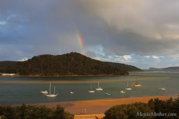 Ettalong beach rainbows