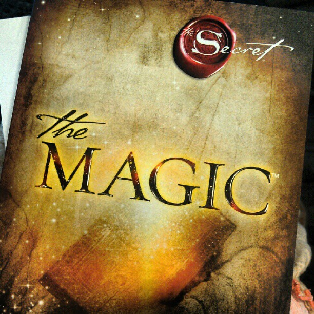 The MAgic Rhonda Byrne... ...