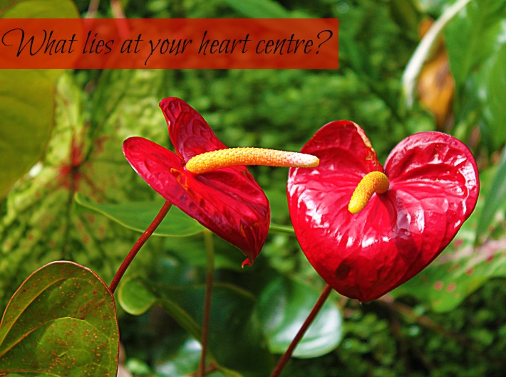 What lies at your heart centre