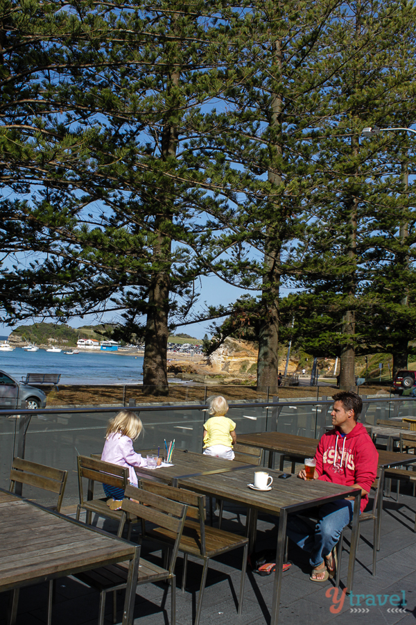 Terrigal beer garden