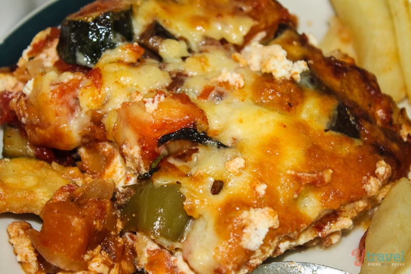 roast vegetable lasagna