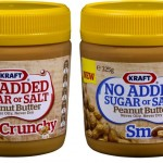 Kraft no added sugar or salt peanut butter