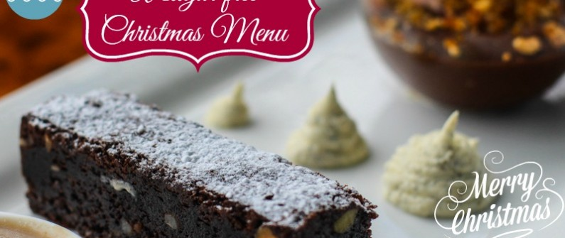 sugar free christmas menu