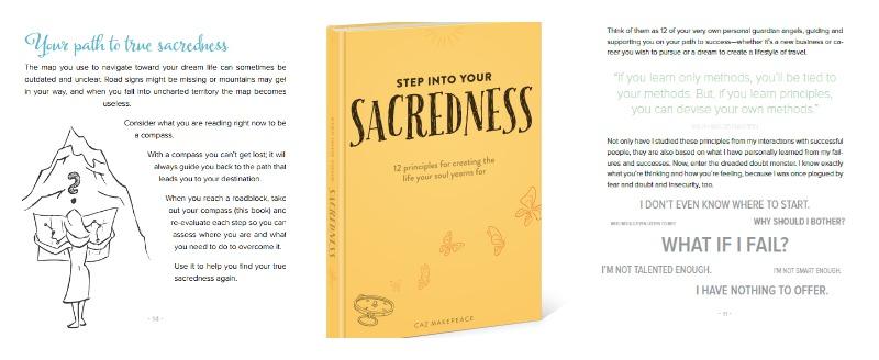 Step into your sacredness