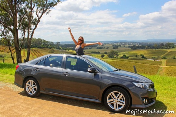 Toyota Camry Atara in the Hunter Valley