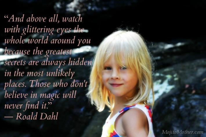 Magic quote Roald Dahl