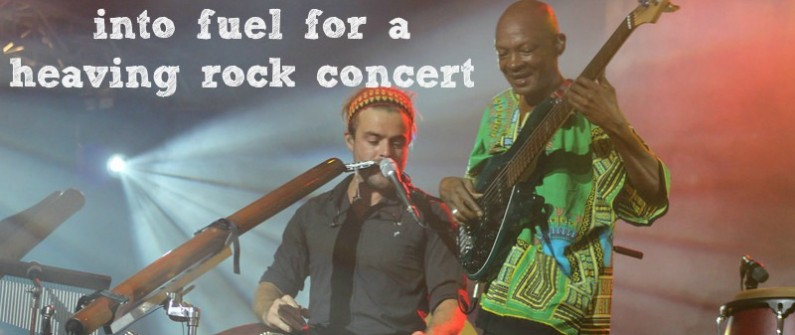 Turn Comparititus rock concert